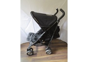 Maclaren Rare Special Edition Genuine Leather And Carbon Pushchair RRP: £1000